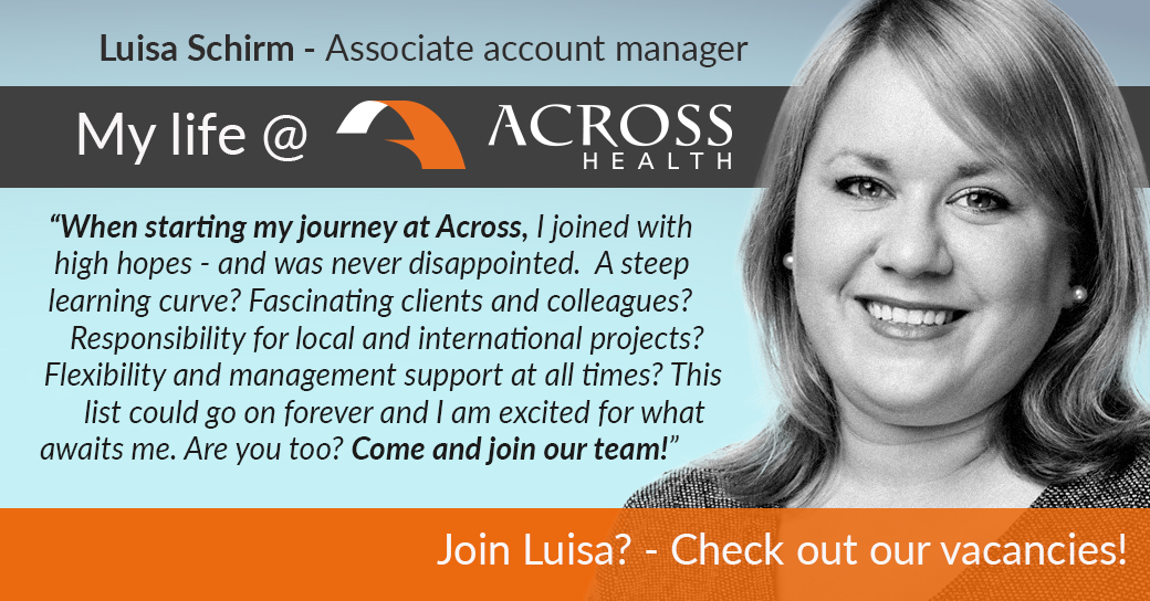 Luisa Schirm - Associate account manager testimonial