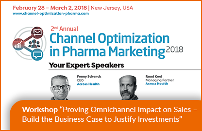 Across Health in the 2nd Annual Channel Optimization in Pharma Marketing 2018